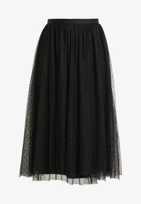 Needle & Thread - KISSES TULLE MIDAXI SKIRT - Maxi sukně - ballet black - 3