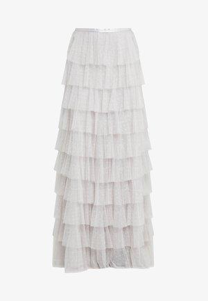 NEVE RUFFLE MAXI SKIRT - Maxi skirt - periwinkle purple