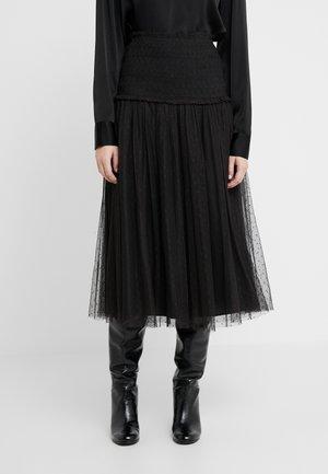 SMOCKED KISSES BALLERINA SKIRT - Áčková sukně - ballet black