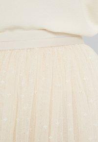Needle & Thread - KISSES MAXI SKIRT - Maxi skirt - champagne - 4