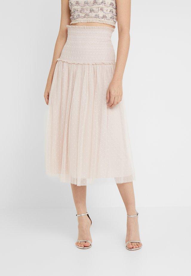 SMOCKED KISSES BALLERINA SKIRT - A-line skirt - french rose