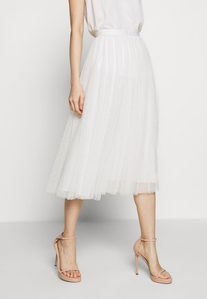 KISSES TULLE MIDAXI SKIRT - Jupe trapèze - mow