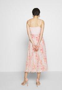 Needle & Thread - RUBY BLOOM SMOCKED BALLERINA SKIRT - Jupe trapèze - pink - 2