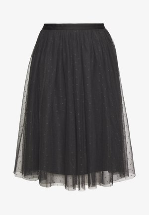 KISSES MIDI SKIRT EXCLUSIVE - A-Linien-Rock - graphite grey