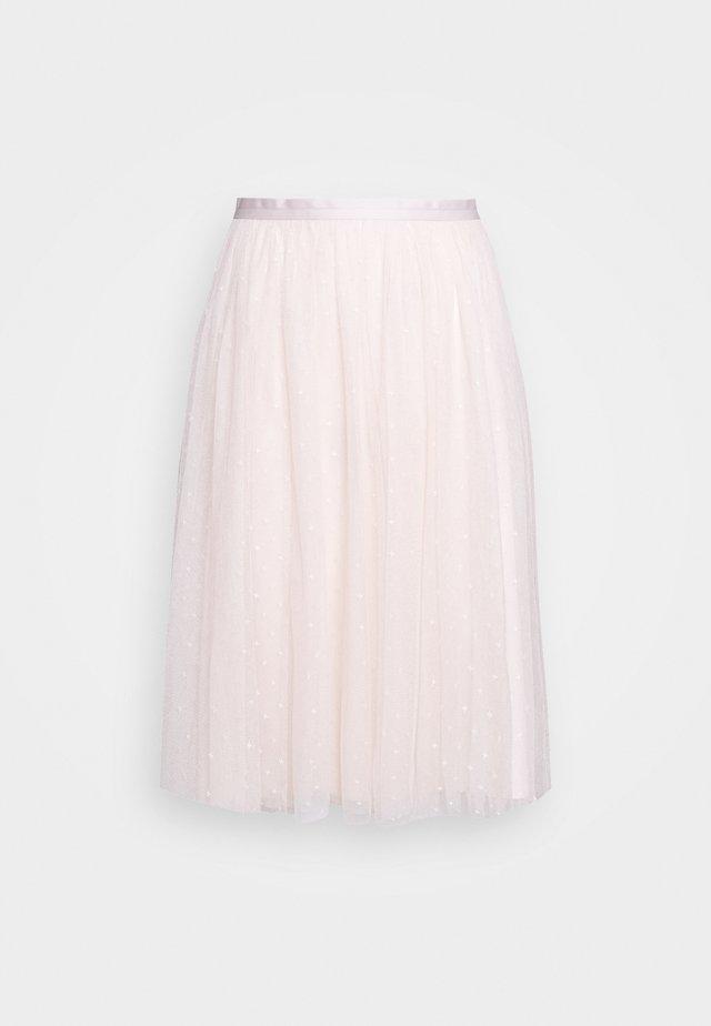 KISSES MIDI SKIRT EXCLUSIVE - A-line skirt - ballet slipper
