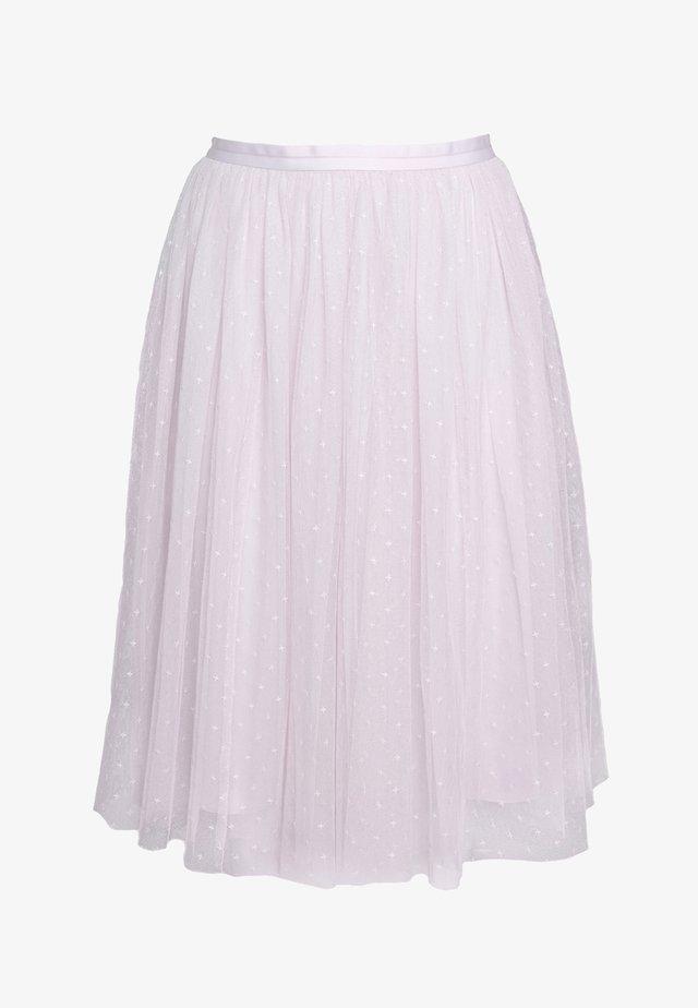 KISSES MIDI SKIRT EXCLUSIVE - Áčková sukně - violet