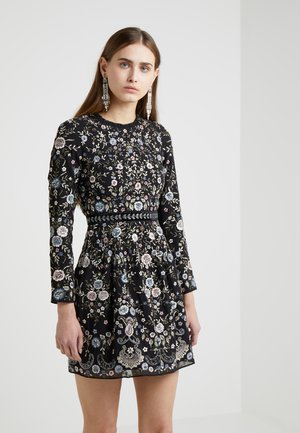 ELLA LACE LONG SLEEVED PROM DRESS - Cocktailklänning - washed black