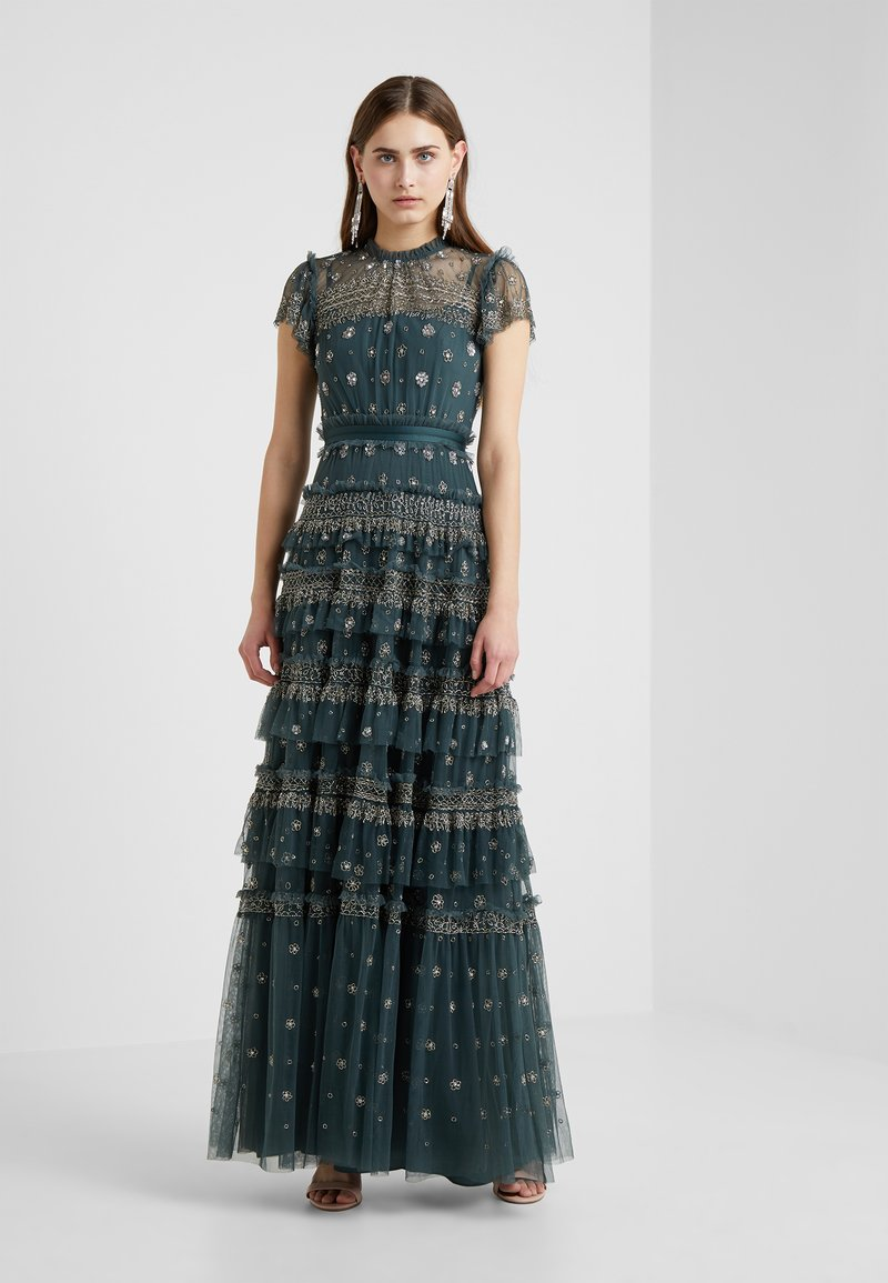 Needle & Thread - ANDROMEDA GOWN - Occasion wear - emerald