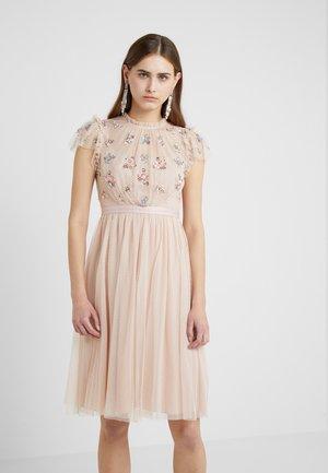 SEQUIN BODICE DRESS - Cocktailklänning - rose quartz