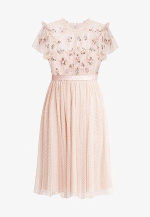 SEQUIN BODICE DRESS - Sukienka koktajlowa - rose quartz
