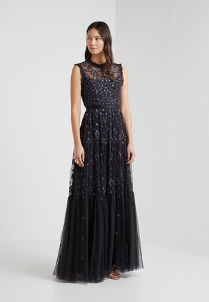 CLOVER GLOSS GOWN - Occasion wear - graphite