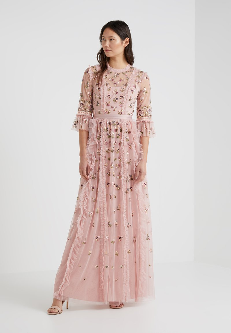 Needle & Thread - ROCOCO DITSY GOWN - Occasion wear - rose pink