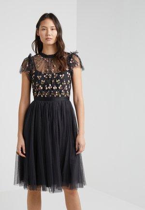 ROCOCO BODICE DRESS - Cocktail dress / Party dress - graphite