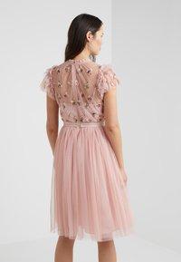 Needle & Thread - ROCOCO BODICE DRESS - Cocktailklänning - pink - 2