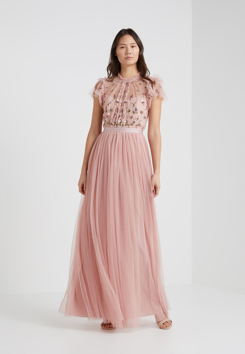 Needle & Thread - ROCOCO BODICE GOWN - Vestido de fiesta - rose pink