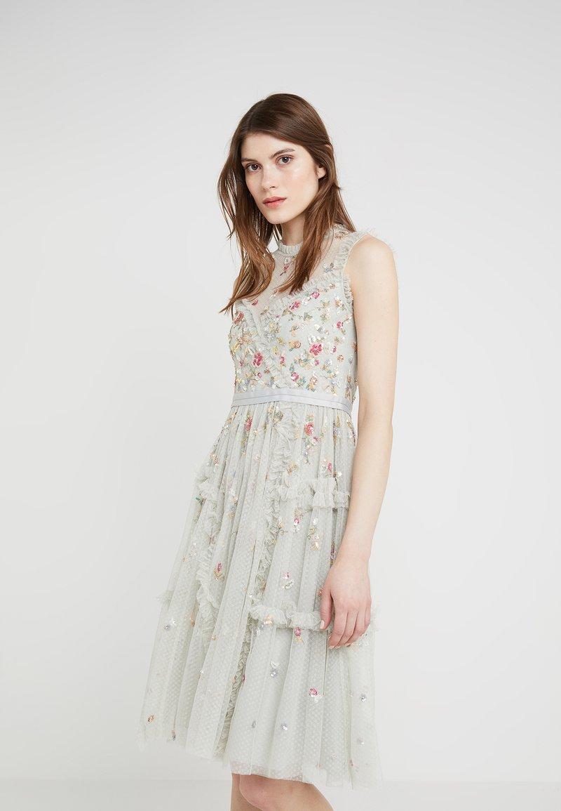 Needle & Thread - SHIMMER DITSY DRESS - Robe de soirée - pistachio