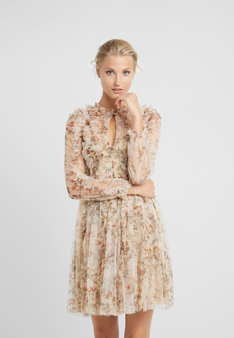 Needle & Thread - GARLAND FLORA DRESS - Cocktail dress / Party dress - washed yellow
