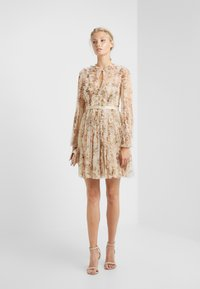 Needle & Thread - GARLAND FLORA DRESS - Cocktail dress / Party dress - washed yellow - 1