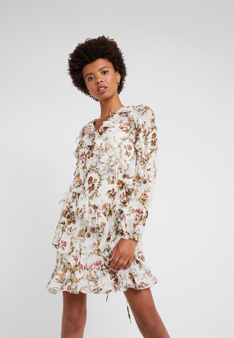 Needle & Thread - GARLAND PETAL WRAP DRESS - Cocktail dress / Party dress - ivory