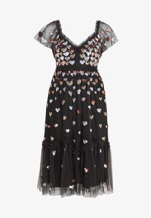 LOVEHEART DRESS - Juhlamekko - graphite