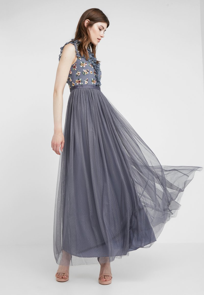Needle & Thread - MAGDALENA BODICE MAXI GOWN - Occasion wear - vintage navy