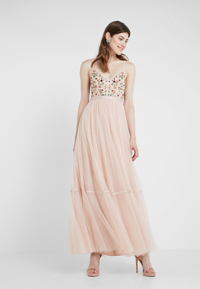 Needle & Thread - MAGDALENA BODICE CAMI GOWN - Occasion wear - rose quartz