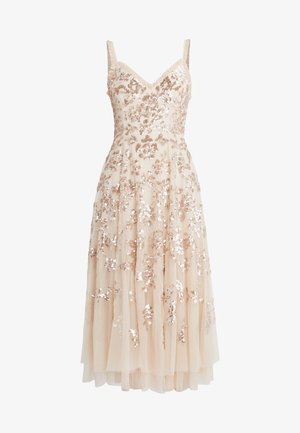 VALENTINA DRESS - Vestido de cóctel - gold