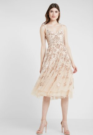 VALENTINA DRESS - Juhlamekko - gold