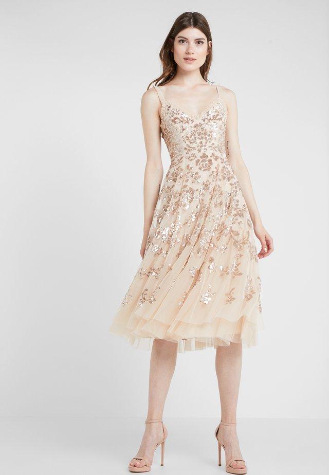 VALENTINA DRESS - Sukienka koktajlowa - gold