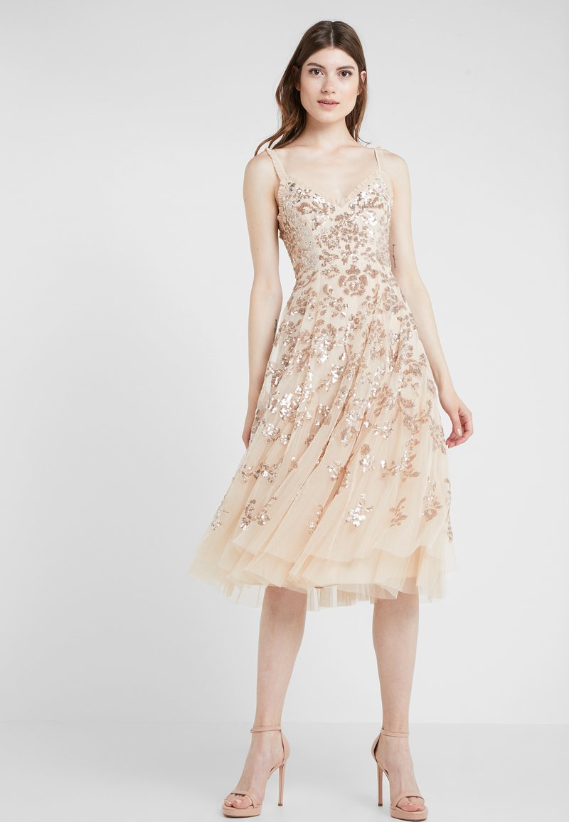 Needle & Thread - VALENTINA DRESS - Cocktail dress / Party dress - gold