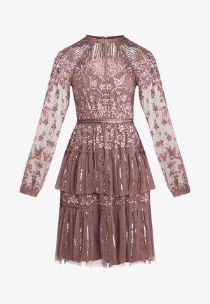 STARLING DRESS - Cocktailklänning - merlot