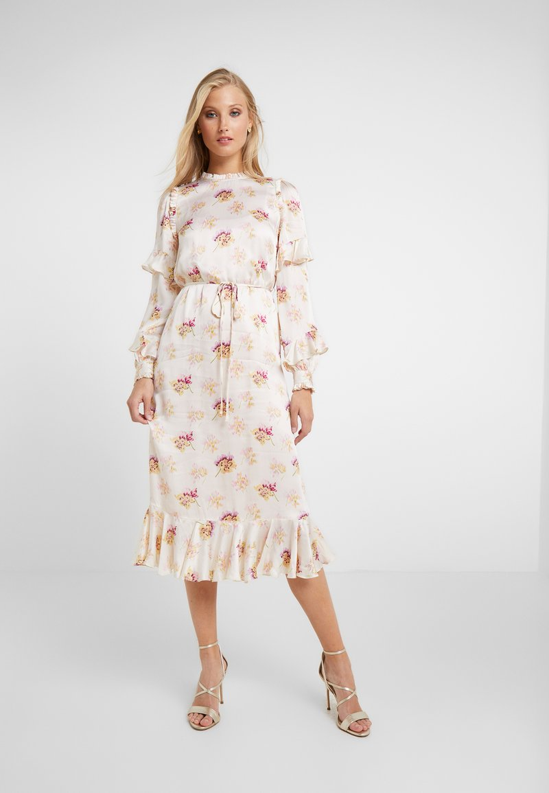 Needle & Thread - BESSIE MIDAXI DRESS - Day dress - champagne