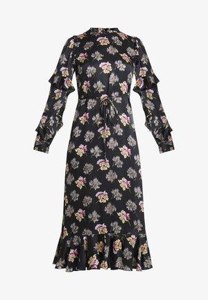 BESSIE MIDAXI DRESS - Day dress - ballet black