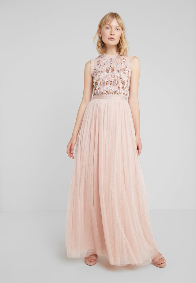 DARLING BODICE SLEEVELESS MAXI DRESS - Ballkleid - powder pink