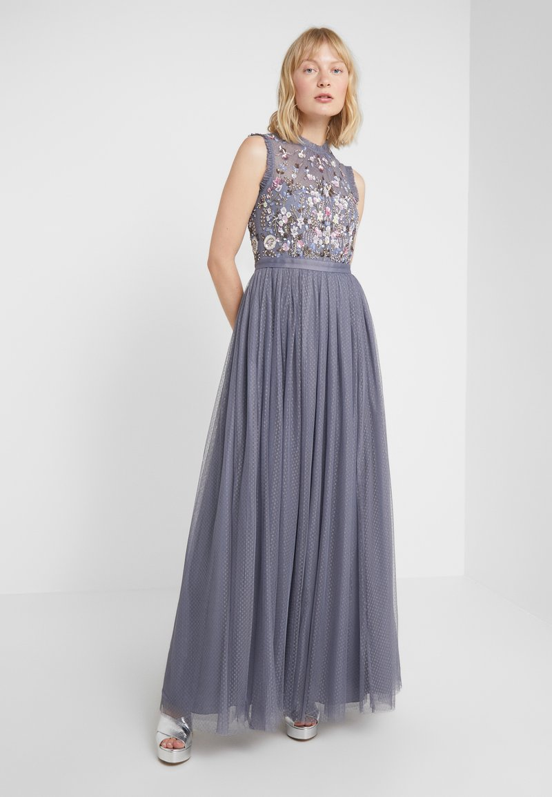 Needle & Thread - DARLING BODICE SLEEVELESS MAXI DRESS - Occasion wear - thistle blue