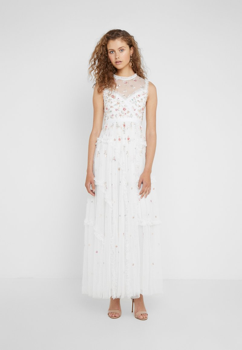 Needle & Thread - SHIMMER DITSY GOWN - Iltapuku - ivory