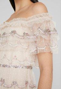 Needle & Thread - NEVE RUFFLE BALLERINA DRESS - Společenské šaty - pearl rose - 5