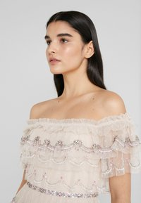 Needle & Thread - NEVE RUFFLE BALLERINA DRESS - Společenské šaty - pearl rose - 3