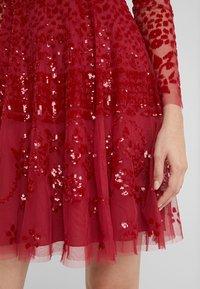 Needle & Thread - AURORA DRESS - Cocktail dress / Party dress - cherry red - 5