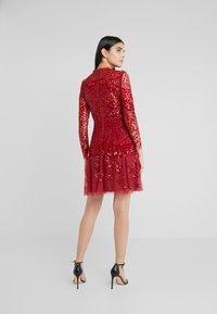 Needle & Thread - AURORA DRESS - Cocktail dress / Party dress - cherry red - 2