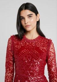 Needle & Thread - AURORA DRESS - Cocktail dress / Party dress - cherry red - 3