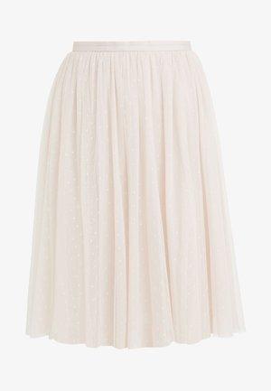 KISSES TULLE MIDI SKIRT - A-line skirt - french rose