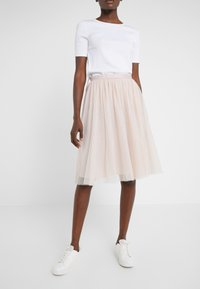 Needle & Thread - KISSES TULLE MIDI SKIRT - A-line skjørt - french rose - 0