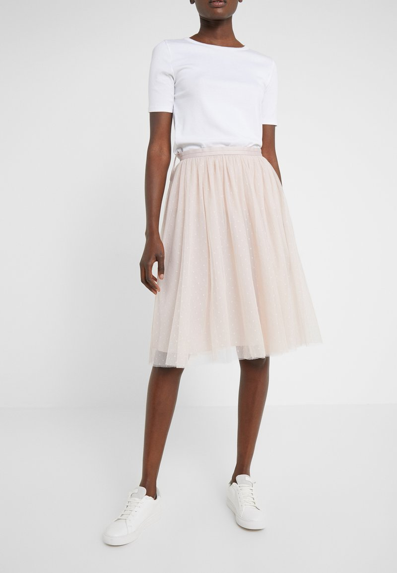 Needle & Thread - KISSES TULLE MIDI SKIRT - A-line skjørt - french rose