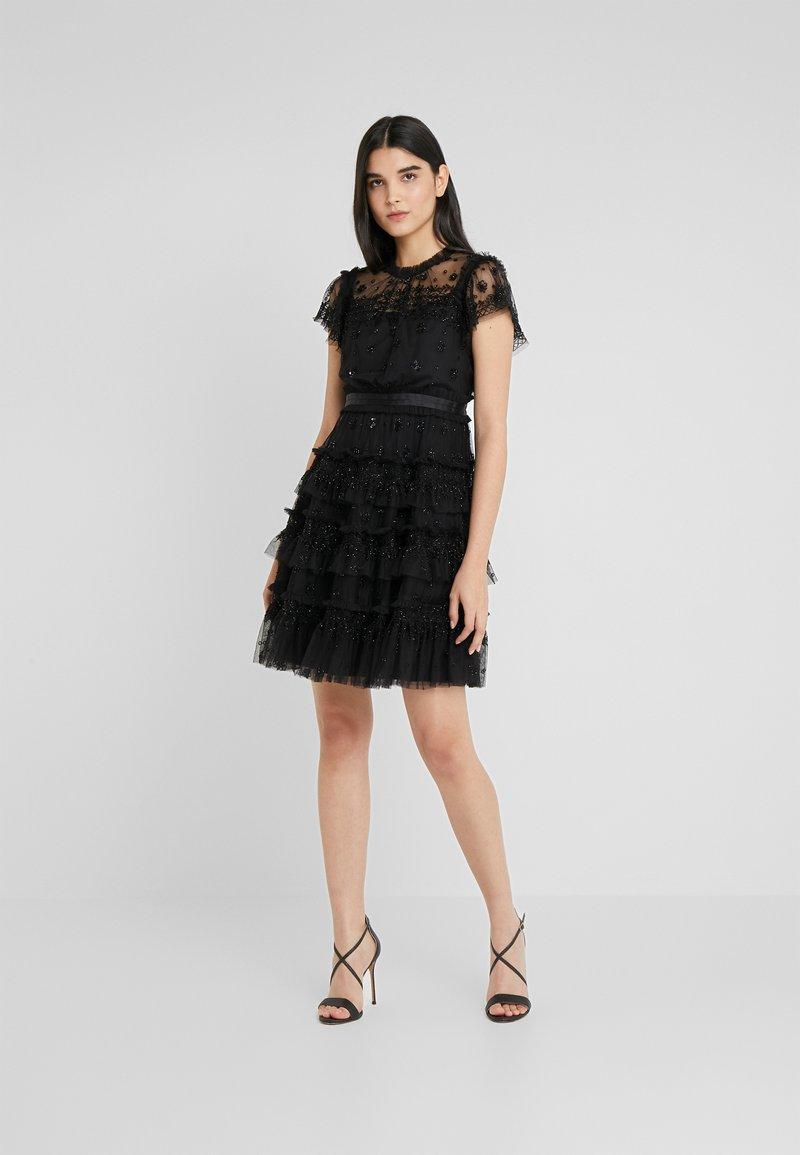 Needle & Thread - ANDROMEDA DRESS - Cocktailkjole - ballet black