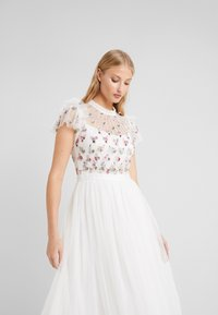 Needle & Thread - ROCOCO BODICE MIDI DRESS - Cocktailklänning - ivory - 3