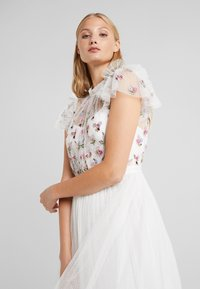 Needle & Thread - ROCOCO BODICE MIDI DRESS - Cocktailklänning - ivory - 4