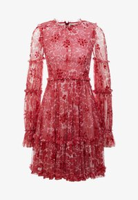 Needle & Thread - ANYA EMBELLISHED DRESS - Vardagsklänning - cherry red - 4