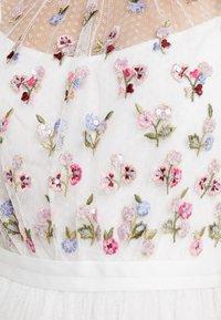 Needle & Thread - ROCOCO BODICE MAXI DRESS - Festklänning - ivory - 7