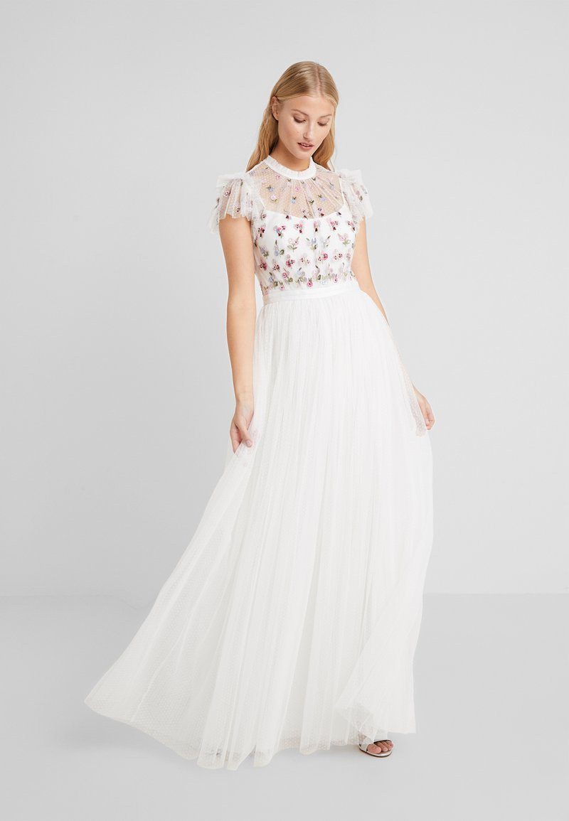 Needle & Thread - ROCOCO BODICE MAXI DRESS - Festklänning - ivory